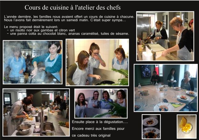 Cours De Cuisine à Latelier Des Chefs Multi Accueil Minibou Nantes